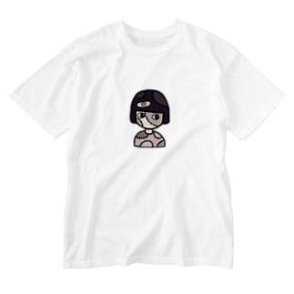 okappa zombie Washed T-Shirt