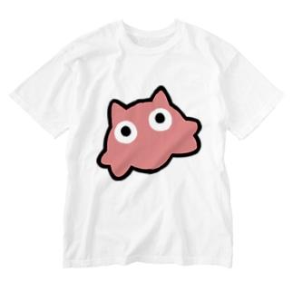 めちゃでかめんだこちゃん  Washed T-shirts
