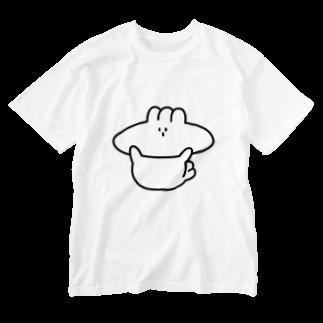 川上タオルのヘンガオあざらし Washed T-shirts