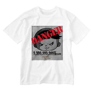 でんじゃらす Washed T-shirts