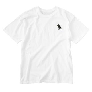 ちびきょうりゅう Washed T-shirts