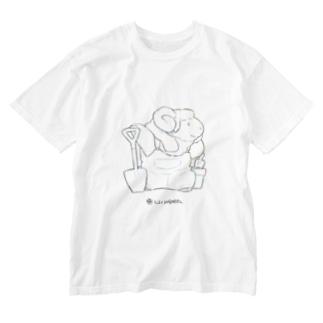 LIVINGMOOL 羊 Washed T-shirts