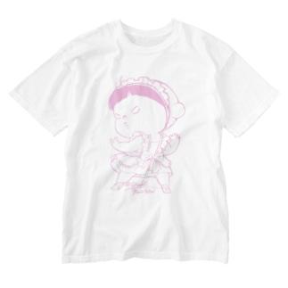 めいどあー Washed T-shirts