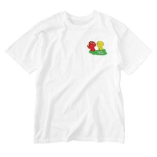 花冠A Washed T-shirts