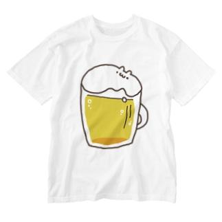 はむビール! Washed T-shirts