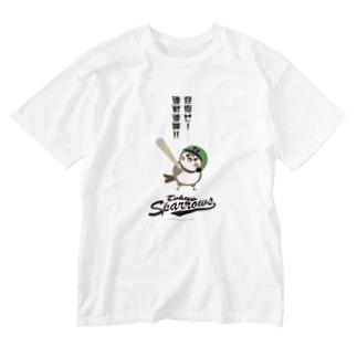 東京Sparrows Washed T-shirts