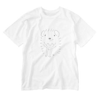 きゅ Washed T-shirts