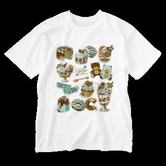 レモネードプールのチョコミント Washed T-shirts