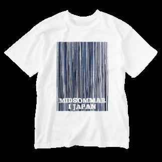HEJSAN BUTIKEN SUZURIの日本の夏至 Washed T-shirts