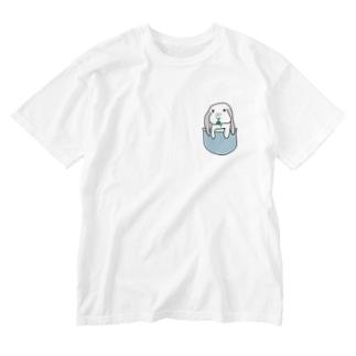 ポッケにだいふく Washed T-shirts