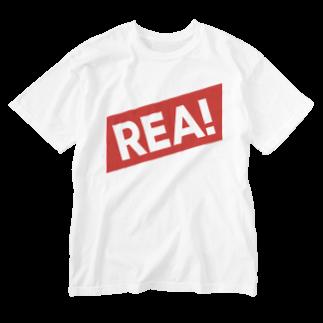 HEJSAN BUTIKEN SUZURIのREA01 Washed T-shirts