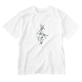 ライトなざわざわした予感 Washed T-shirts