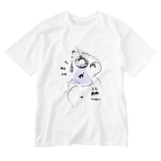 Playing_P Washed T-shirts