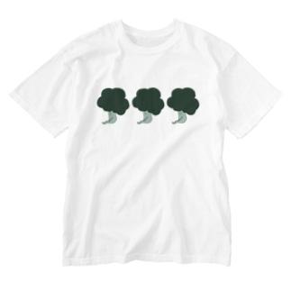 まってるぶろりー Washed T-shirts