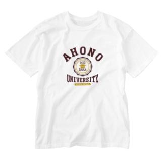 アホの大学 Washed T-shirts