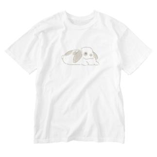 たれみみの子 Washed T-shirts