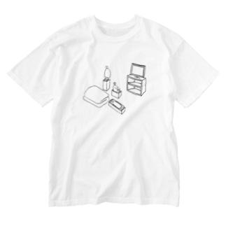 インディペンデントリビング Washed T-shirts