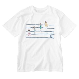 ラインダンス部 Washed T-shirts