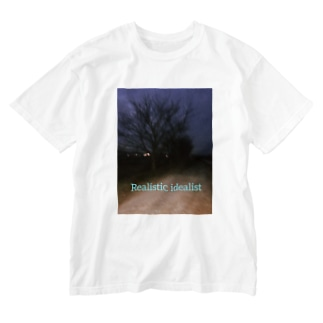 Realistic idealist Washed T-shirts
