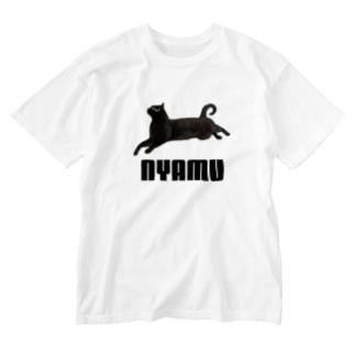 にゃむT Washed T-shirts