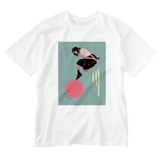 忘れられない Washed T-shirts