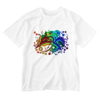 Over_The_Rainbow Washed T-shirts