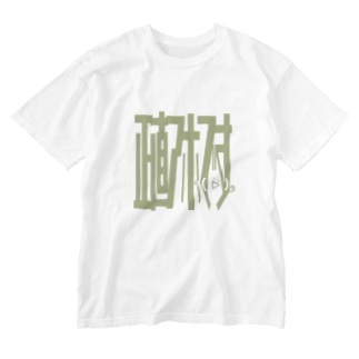 正直アホですTシャツⅢ Washed T-shirts