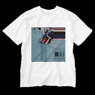 (T_#)-てぃーたぐ-from Uta worldのUta131014-2019 ウォッシュTシャツ Washed T-shirts