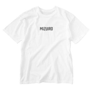 mizuiro type Washed T-shirts