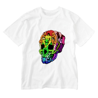 Sex Skull(color) Washed T-shirts