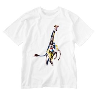 キリン Washed T-shirts