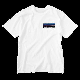 AIM HIGH Product さらなる高みが目指せる品々のdobunomia Washed T-shirts