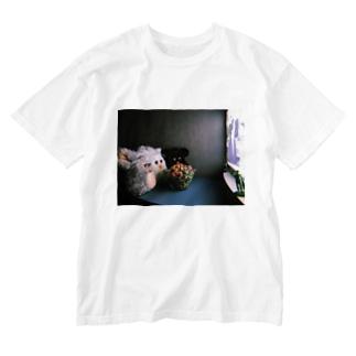 良好な関係。 Washed T-shirts