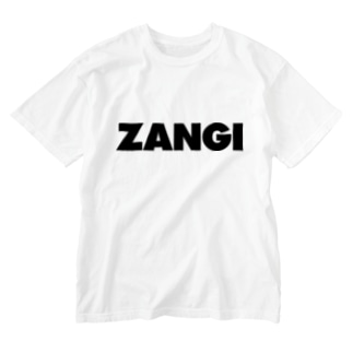 ZANGI Washed T-shirts