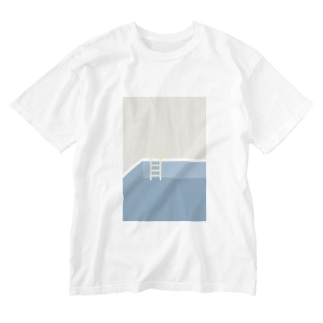 🌊 pool Washed T-shirts