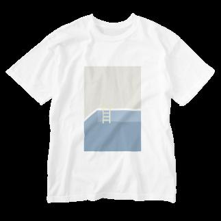 ▷            chiroruの🌊 pool Washed T-shirts