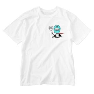 アホライダー Washed T-shirts