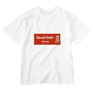 Good Chair for you (赤ラベル) Washed T-shirts