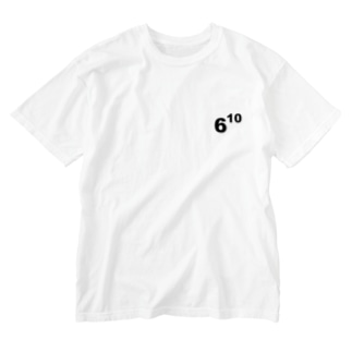 610(ムトウ) Washed T-shirts