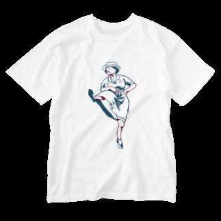 あかまふのDANCE Washed T-shirts