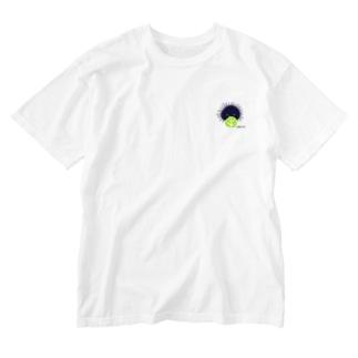キャベツうに Washed T-shirts
