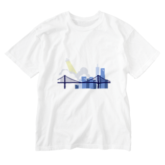 fiSHの自由の女神強奪計画 Washed T-shirts