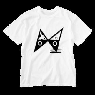寝子のNねこ Washed T-shirts