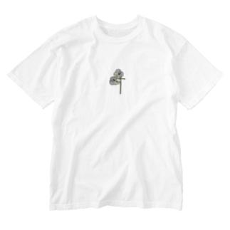 祈り Washed T-shirts