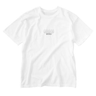 shiroinuウエスティ Washed T-shirts