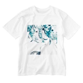 人魚の心臓 Washed T-shirts