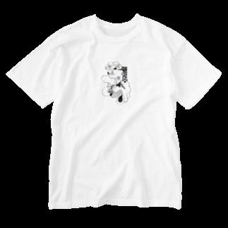NORI OKAWAの!楽しい死後!ファンキー Washed T-shirts
