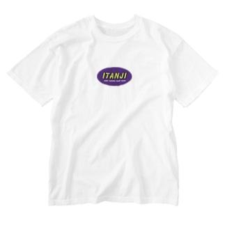 存在しない釣具屋さん_purple Washed T-shirts