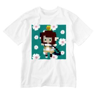 とよぴい_Tシャツ Washed T-shirts