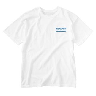 ペパポン Washed T-shirts